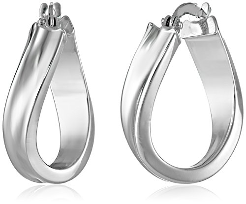 14k-white-gold-wavy-hoop-earrings