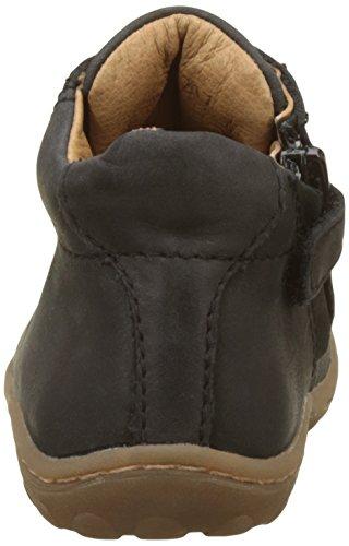Bisgaard Unisex Baby 23101217 Lauflernschuhe für Babys Noir (221 Black)