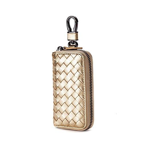 Mefly Key Wrap Colgando De La Cintura De Cuero Grandes Hombres Multifuncional Tirano Gold Small tyrant gold