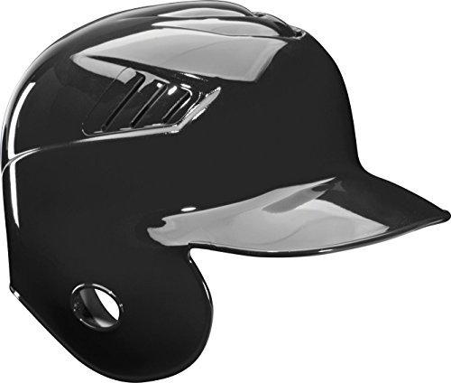 Rawlings Coolflo Single Flap Batting Helmet for Left Handed Batter, Black, Large - Batting Helmet Fit