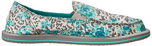 Türkis Mixed On Womens Sanuk Grau Slip Up Donna Loafer qwEFp8F