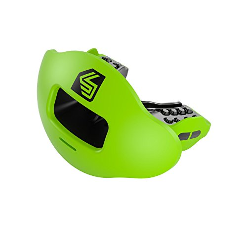 Shock Doctor 3500 Max Airflow 2.0 Lip Guard, Shock Green, One Size