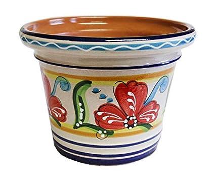 Amazon.com: Maceta de flores españolas, maceta, jardín, 15.7 ...