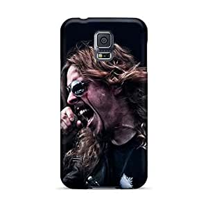 AlainTanielian Samsung Galaxy S5 Scratch Protection Phone Covers Unique Design HD Oasis Band Pictures [wIf6810tkvx]