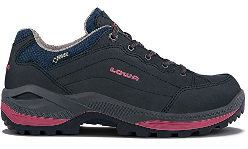 Lowa Ladies Renegade Gtx Lo Outdoor Shoes Navy Berry (320963-6951)