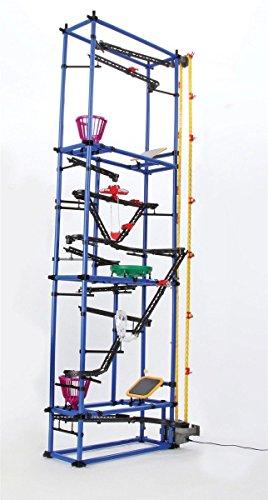 Tower Frame Run (Rube Goldberg Inspired Award Winning Chaos Tower Marble Run (Chaos Tower))