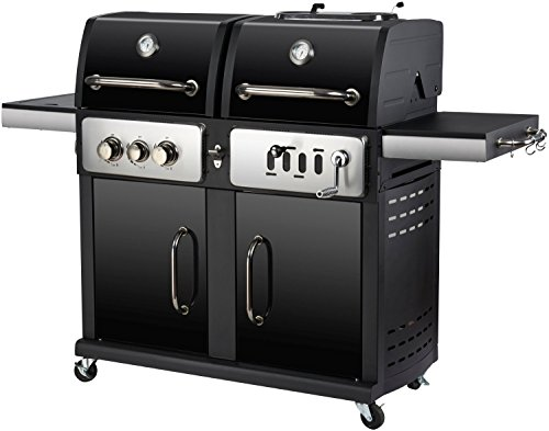 Gas Holzkohlegrill Kombination : Neues design in gas und kombination holzkohle grill buy gas