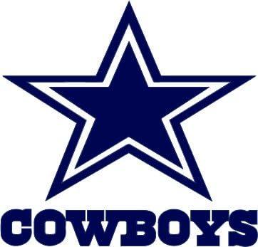 Cowboys Decal Sticker