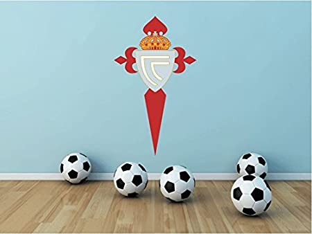 Celta Vigo FC Spain Soccer Football Alta Calidad De Coche De Parachoques Etiqueta Engomada 8 x 12 cm