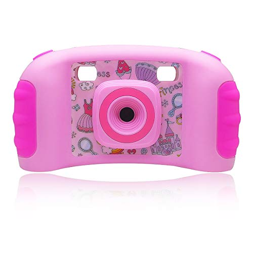 - kids Toy Camera, Video Recorder Camcorder Camera for kids, Kids Digital Camera 128 MB Built-in Memory Mini Cameras with 4-in-1 Games, Birthday Holiday Christmas Gifts for Children Girls - Pink