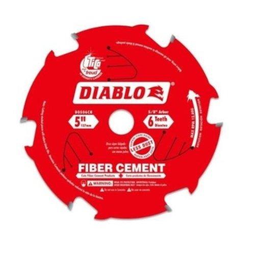 Freud  D0506CH  5-Inch 6 Teeth Fiber - James Hardie Tools