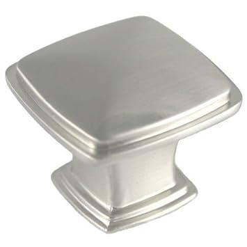 cosmas 4391sn satin nickel modern cabinet hardware knob inch