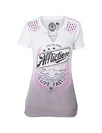 Affliction Women's Lager Short Sleeve T-shirt