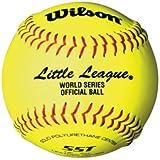 """Wilson 11"""" & 12"""" Girls/Juniors Softball (Official Ball of the Little League World Series)"""