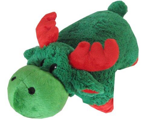 Green Zoopurr Stuffed Animal Pillow
