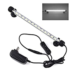 Smiful Fish Tank Light              This waterproof LED fish tank light gives you a brighter and safer aquariums landscape light support.                Specifications:              Waterproof: IP68 Waterproof for the LED bar ...