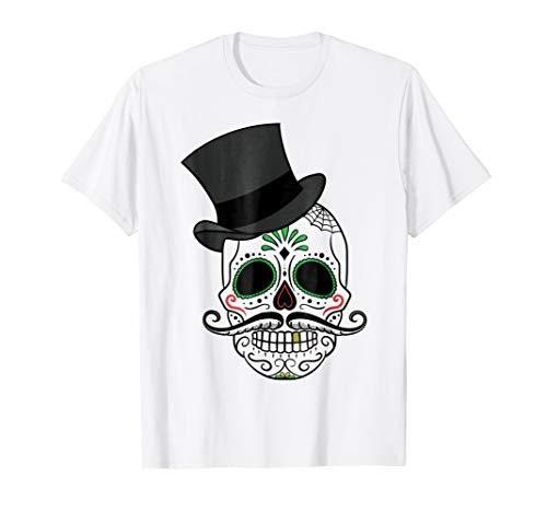 Playera de Mexico - Dia de los Muertos Calabera Mexico Shirt