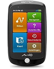 Mio Cyclo 220 fietsnavigatie, 3.5 inch kleurenscherm, touchscreen, volledige dekking Europa, zwart