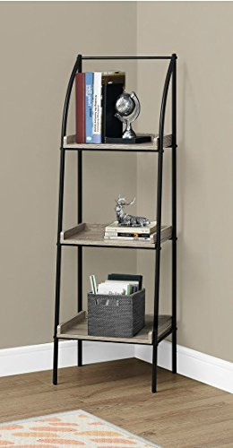 By Home Design Modern Bookcase, Etagere - 3 Tier, 48