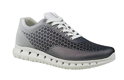 Gabor Women's Shoes 64.331.42Women's Sneakers, Trainers, Lace-Up Flats, Lace-Up Shoes, ultra-light, with Widened Tread Area grau