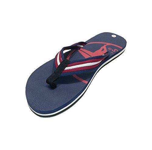 Siebis Strandschuhe Ben Herren-Flip Modischer und sportlicher Zehentrenner: Größe: 41/42 | Farbe: Navy