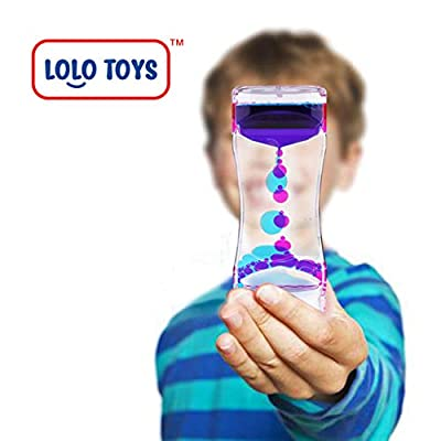 Lolo Toys Liquid Motion Timer: Toys & Games