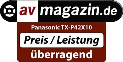 Panasonic TX-P42X10E - Televisión HD, Pantalla Plasma 42 pulgadas ...