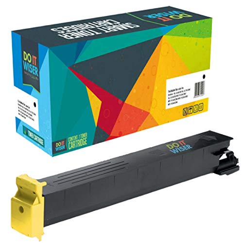Do it Wiser Compatible Toner for Konica Minolta BizHub C353 C253 C203 | TN213 TN213Y (Yellow) ()