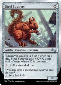 Squirrel Steel (Steel Squirrel - Foil - Unstable)