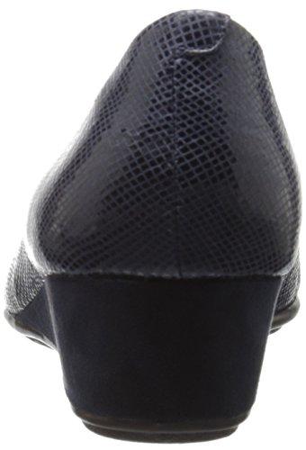 Zapatos Spirit Planos Reptile Puntiagudos Easy azul para Avery6 marino Mujer AqdPPx6Ew