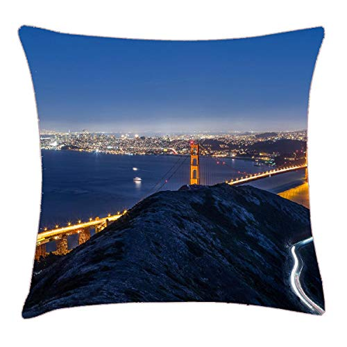 HFYZT Background Images City Images City View Desktop Images Free Hd Wallpaper High Resolution Images Town Pillow Case Pillowcase Cushion Shell 18