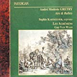 Grétry Airs & Ballets / Karthäuser, Les Agrémens, Van Waas