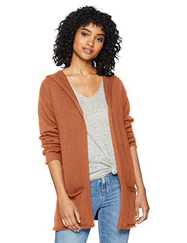 Cable Stitch Women's Hooded Cardigan Sweater