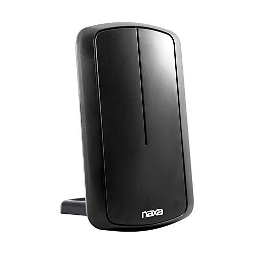 Naxa NAA-305 Flat Panel Style Amplified Antenna for HDTV, ATSC TV and Car Cord by Naxa Electronics