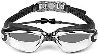 AREO Swim Silicone Anti-Fog Coated Swimming Eyewear Adult Prescription Optical Myopia Swimming Goggles