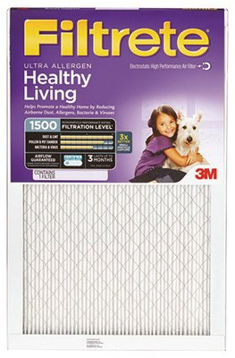 3M 2000DC-6 Filtrete Healthy Living Ultra Allergen Reduction Air Filter