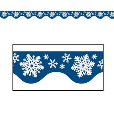 Winter Border Trim Party Accessory (1 count) (12/Pkg)]()