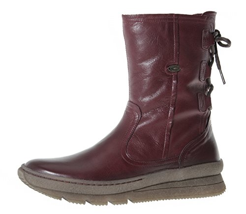 camel active Authentic 73, Botas Para Mujer rojo oscuro