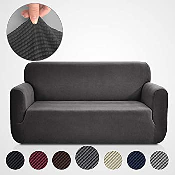 Amazon.com: Binztec 1-Pieces Sofa Cover Knitted Jacquard ...