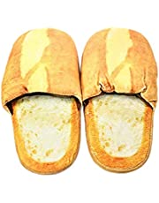 WPYST Slippers Realistic Look Bread Bun Plush Cotton Comfortable Indoor Shoes Mens: 11~11.5 (B11984)