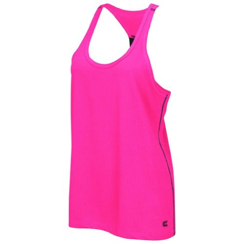 Colosseum Athletic Womens Waffle Mesh Training Tank Top(Neon Pink) - S - Colosseum Mesh Shorts
