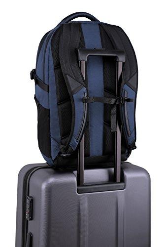 Dell Energy Backpack 1515Rucksack schwarz, Marineblau–Taschen von Laptops (38,1cm (15), Rucksack, Schwarz, Marineblau, Polyester, monoton, air-mesh)