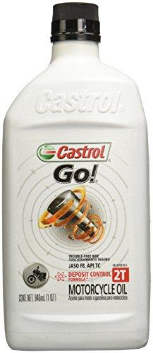 Castrol 06109 Aceite para Motor GO 2T 6X1 QT, Color Blanco, Mediano