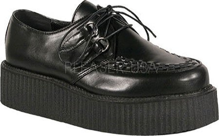 Unisex V 10 Mens CREEPER DEMONIA inch Veggie PU Platform 502 2 Shoe Creeper Black ZpxBRCqzw