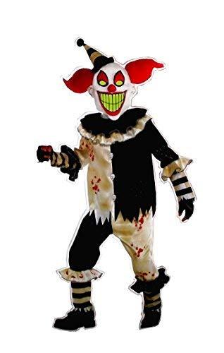 Amscan Carnival Nightmare Clown Costume - Medium (8-10) -
