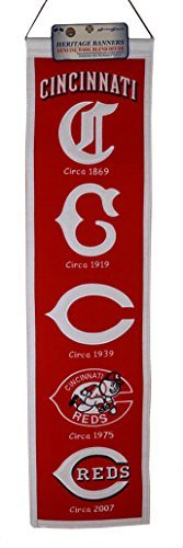 MLB Cincinnati Reds Heritage Banner