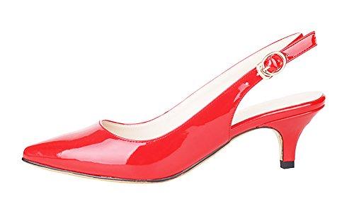 NIUERTE Wife, Montants femme - Rouge - Rouge/motifs,