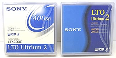 Sony LTX200G LTO Ultrium Tape Cartridge LTO-2 200GB (Native) / 400GB by Sony Electronics Inc.