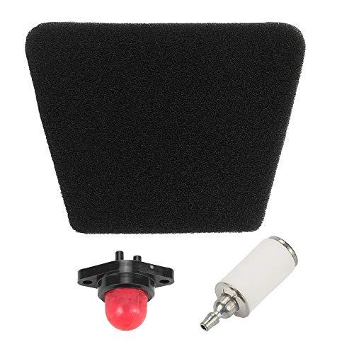 Trustsheer 530037793 Black Air Filter with Fuel Filter Primer Bulb for Poulan 1900 1950 2025 2050 2075 2150 2175 2250 2350 2375 1950LE 1975 Woodshark 1975LE 2050LE 2050WT P3416 Gas Saw