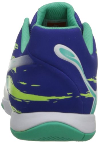 Puma Mens Trovan Lite Soccer Shoe Spectrum Blu / Bianco / Verde Elettrico